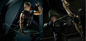 Hawkeve vs Green Arrow: On-screen comparison